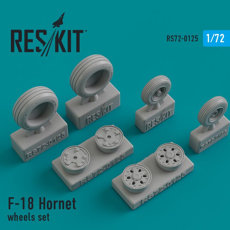Res/Kit F-18 Hornet wheels set