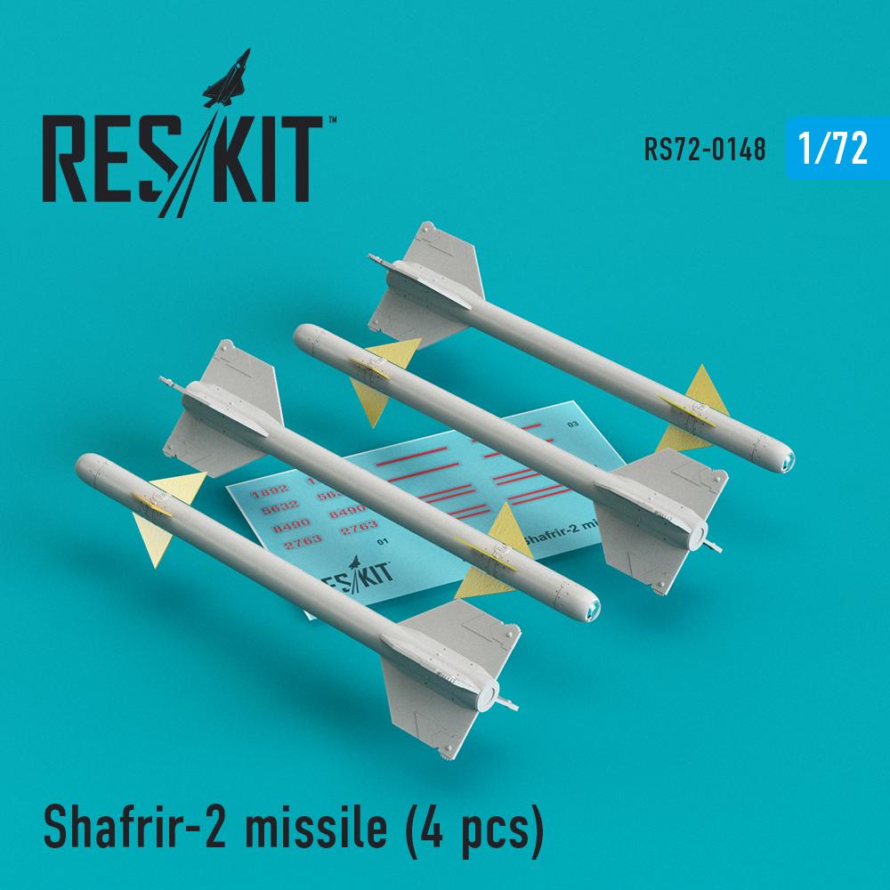 Res/Kit Shafrir-2 missile (4) pcs