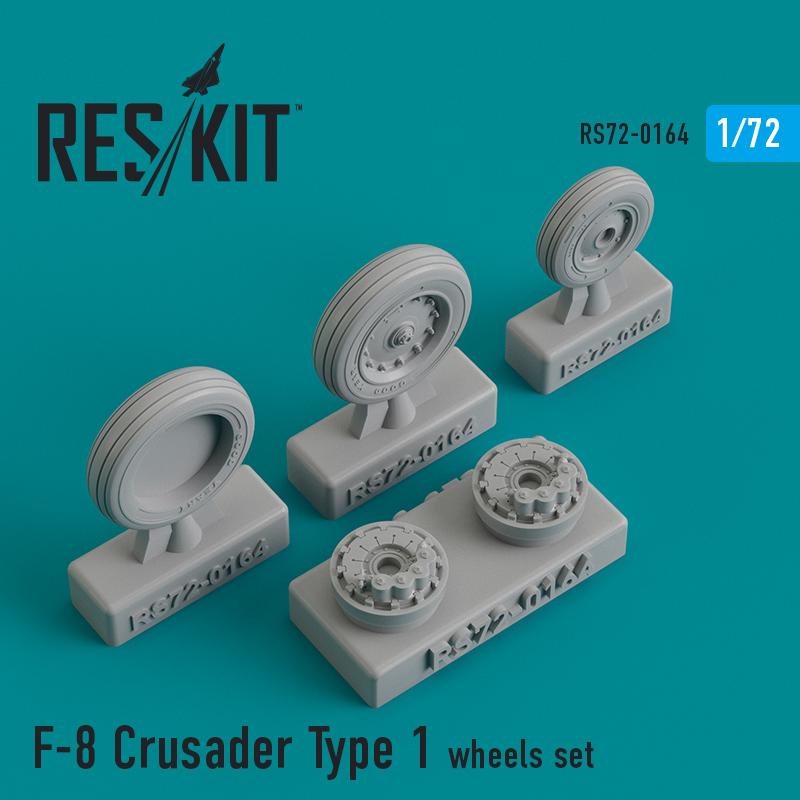 Res/Kit F-8 Crusader Type 1 wheels set