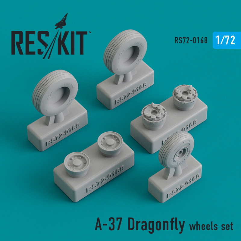 Res/Kit A-37 Dragonfly wheels set