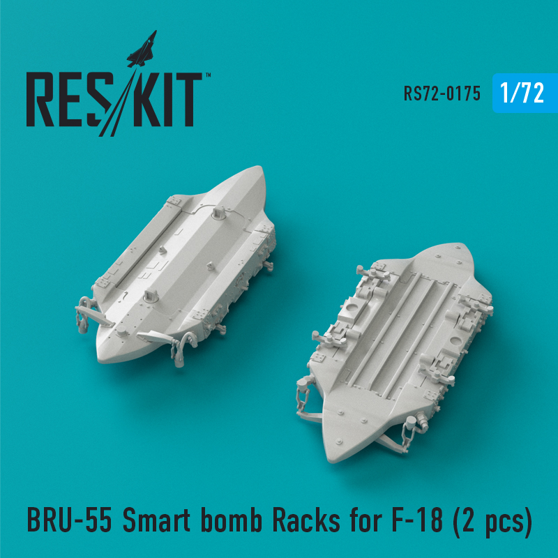 Res/Kit BRU-55 Smart bomb Racks for F-18 (2 pcs)