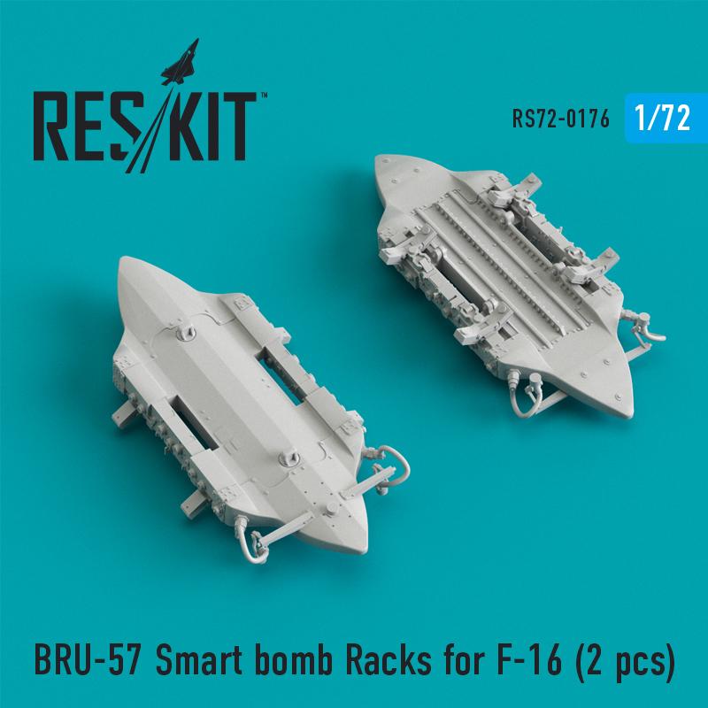 Res/Kit BRU-57 Smart bomb Racks for F-16 (2 pcs)