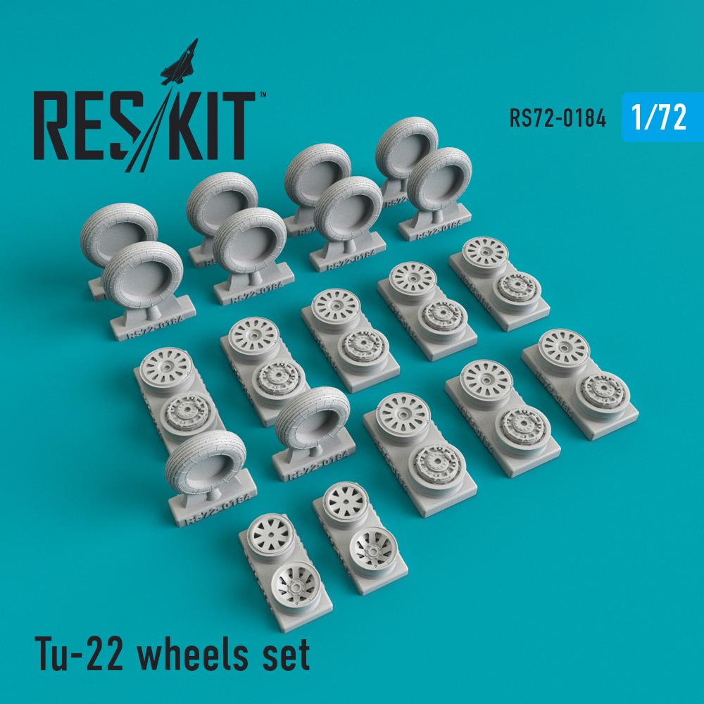 Res/Kit Tu-22 wheels set