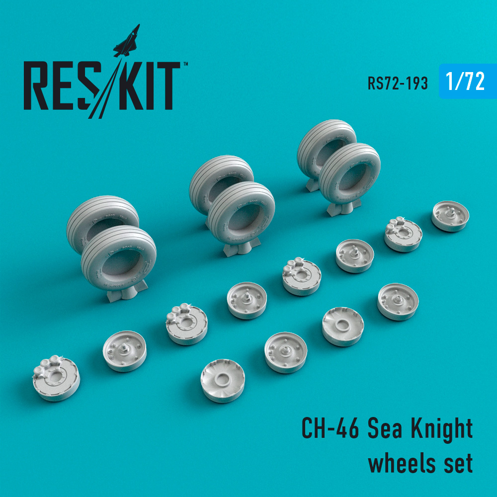 Res/Kit CH-46 Sea Knight wheels set