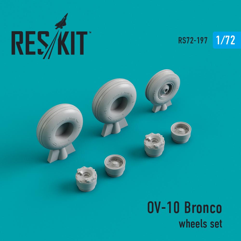 Res/Kit OV-10 Bronco wheels set