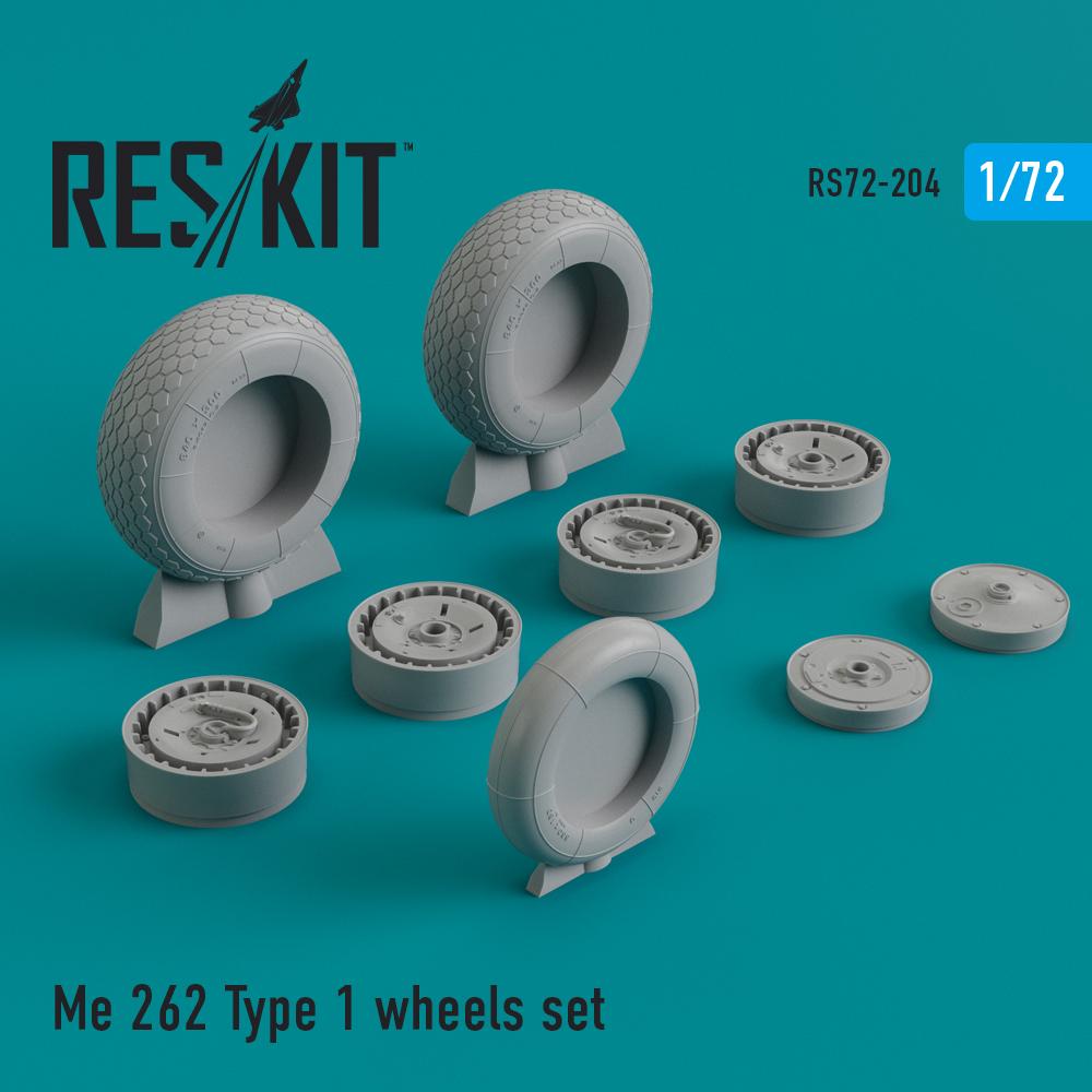 Res/Kit Me.262 Type 1 wheels set