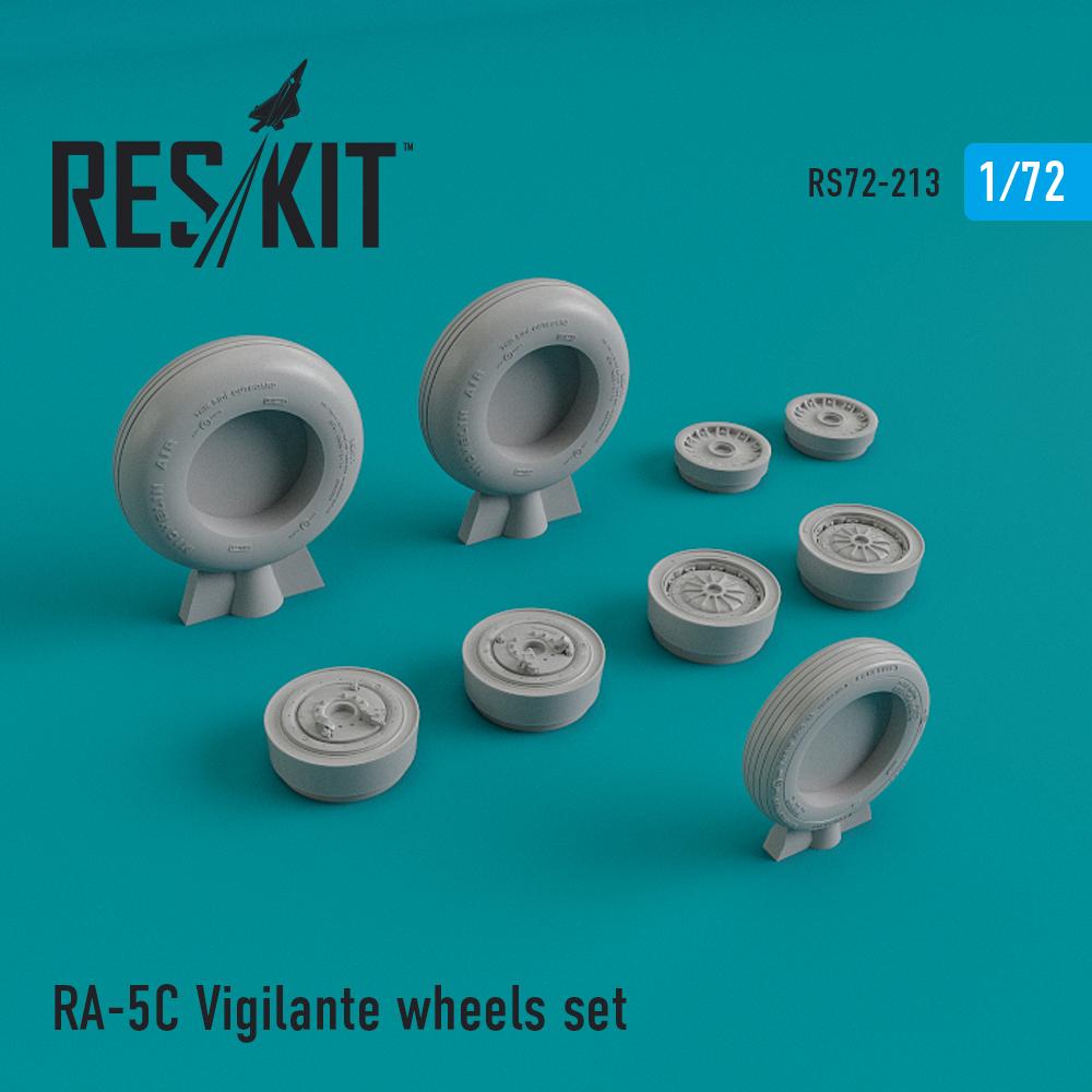 Res/Kit RA-5 Vigilante wheels set