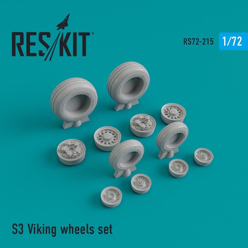 Res/Kit S-3 Viking wheels set