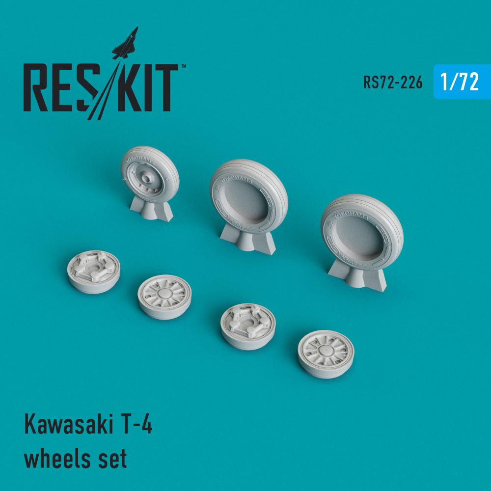 Res/Kit Kawasaki T-4 wheels set