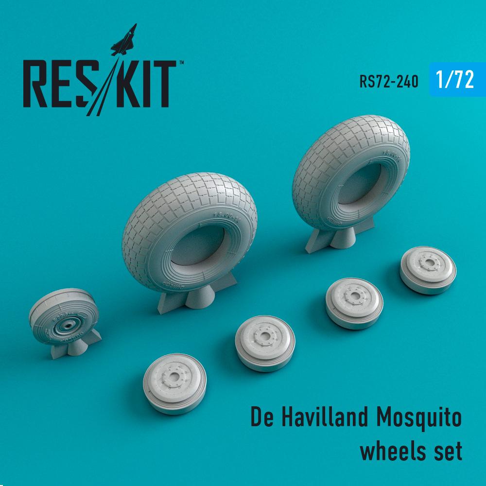 Res/Kit De Havilland Mosquito wheels set