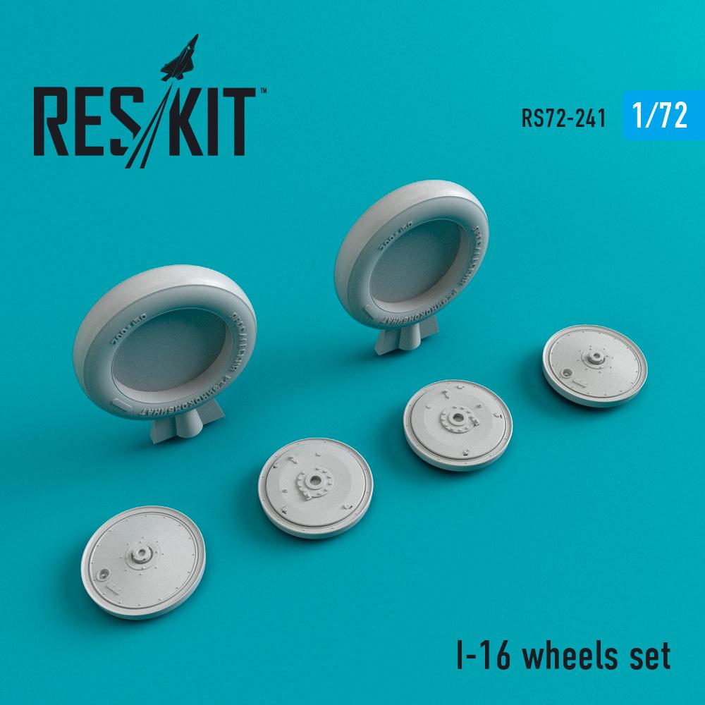 Res/Kit I-16 wheels set