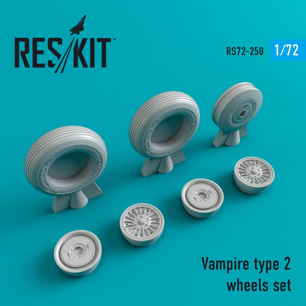 Res/Kit Vampire type 2 wheels set