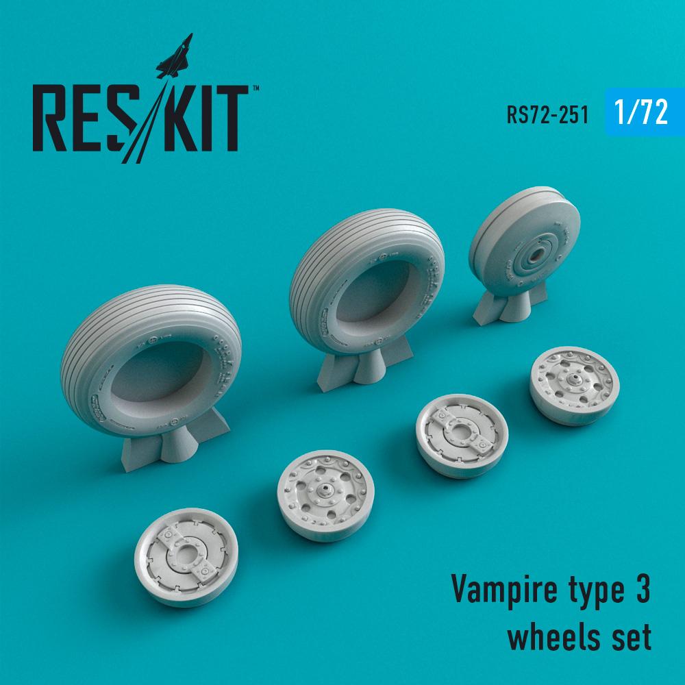 Res/Kit Vampire type 3 wheels set