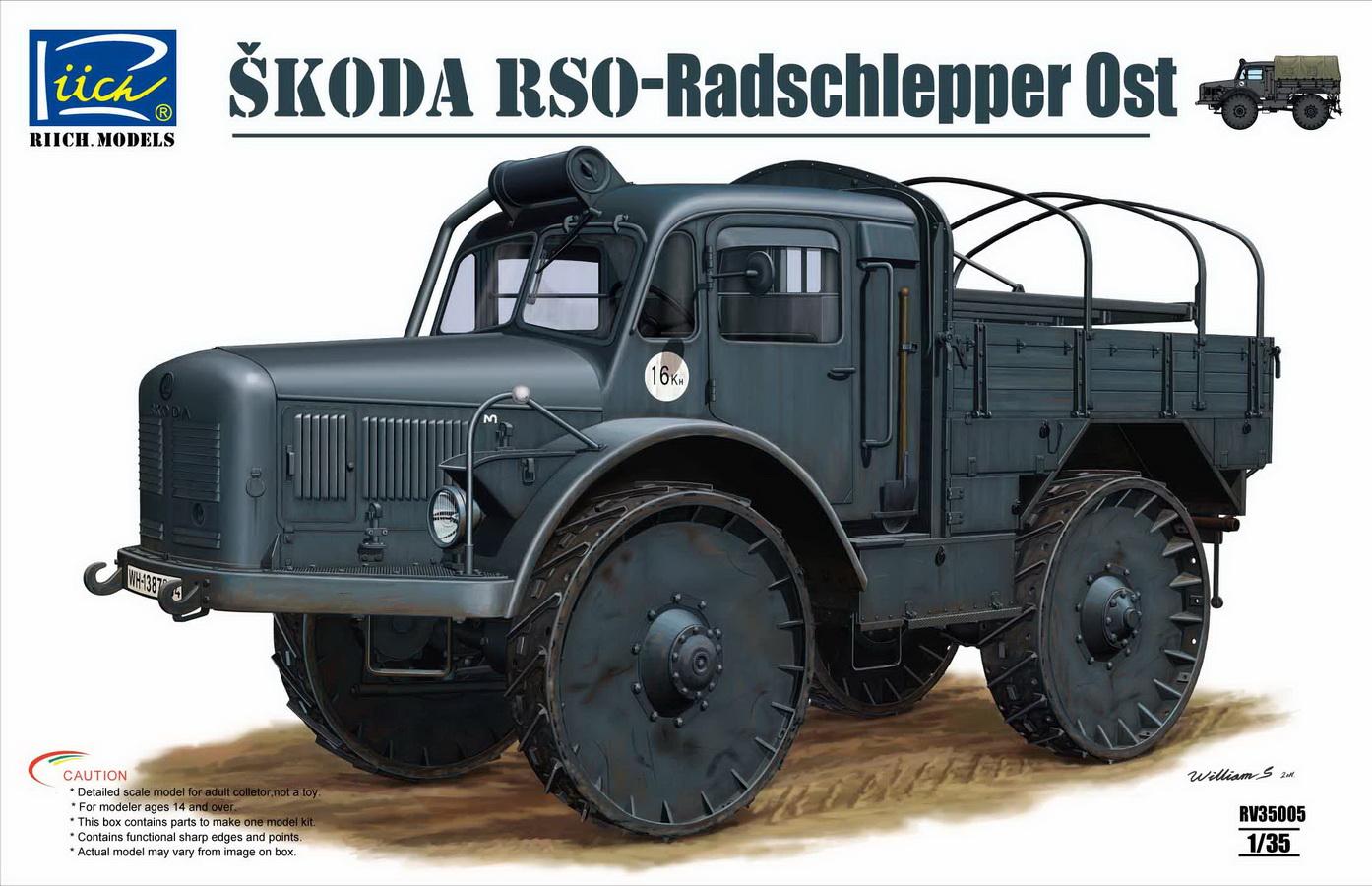 Riich 1/35 Skoda RSO-Radschlepper Ost
