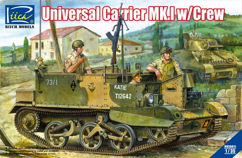 Riich 1/35 Universal Carrier Mk.1 w/crew
