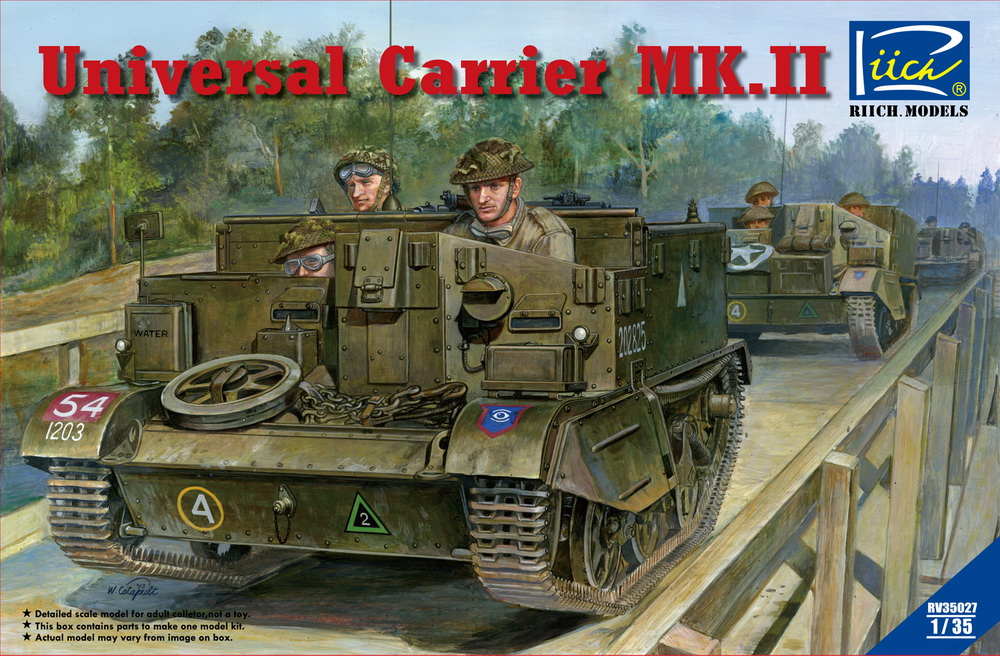 Riich 1/35 Universal Carrier Mk.II (full interior)