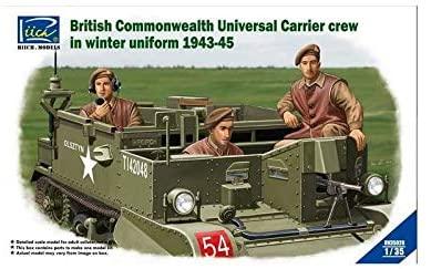 Riich 1/35 British Commonwealth Universal Carrier crew in winter uniform 1943-1945