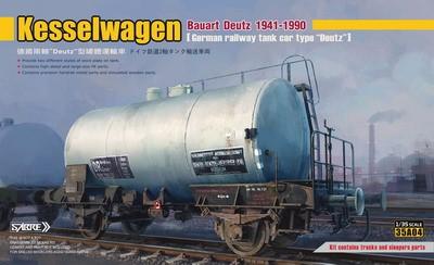 Sabre 1/35 German Railway Kesselwagen Bauart Deutz 1941-1990, Standard Edition