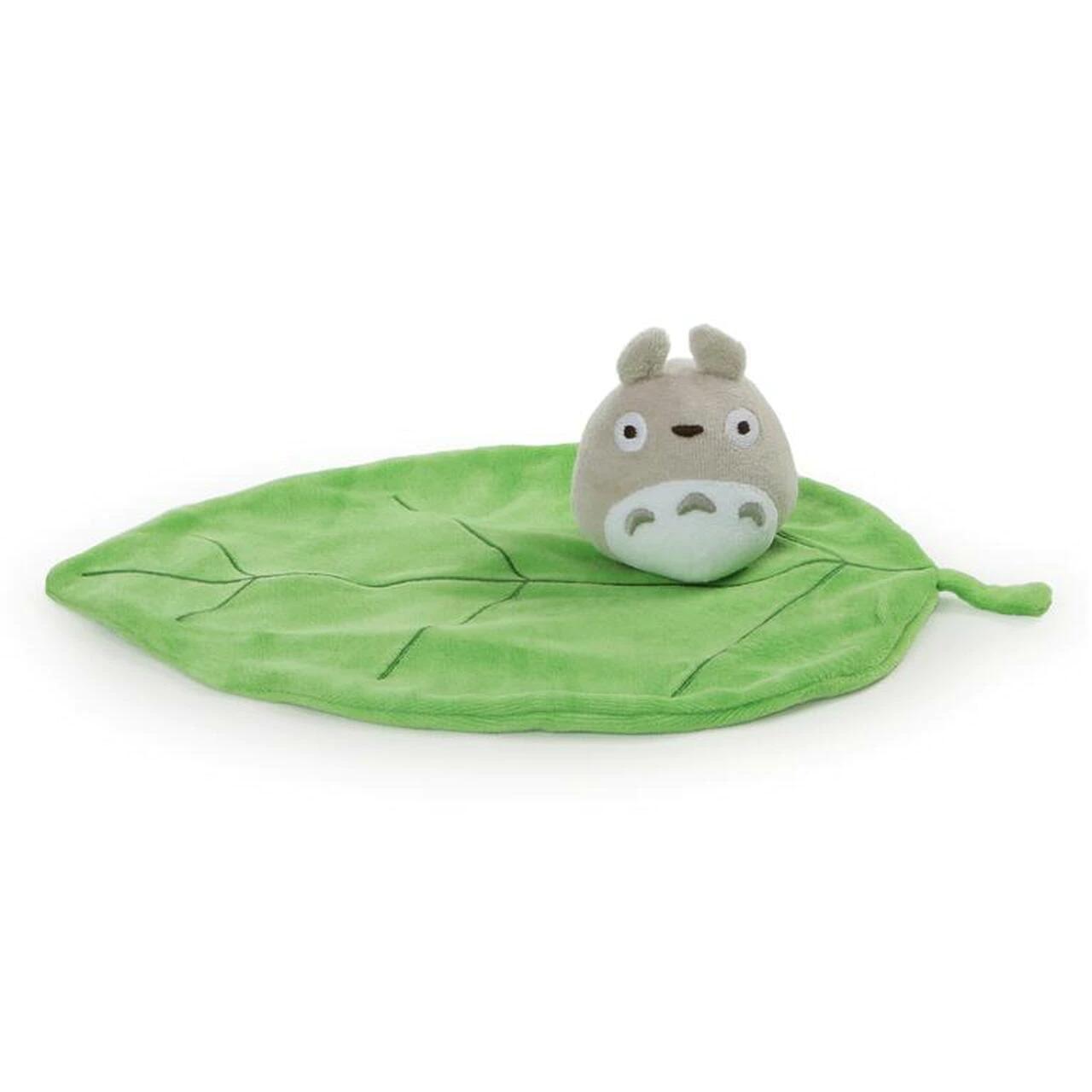 "Sun Arrow Baby My First Totoro - Big Totoro Leaf Lovey (Grey) ""My Neighbor Totoro"""