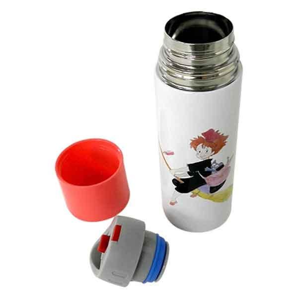 """Skater Bento Kiki Watercolor Stainless Bottle 360ml """"Kiki's Delivery Service"""""""