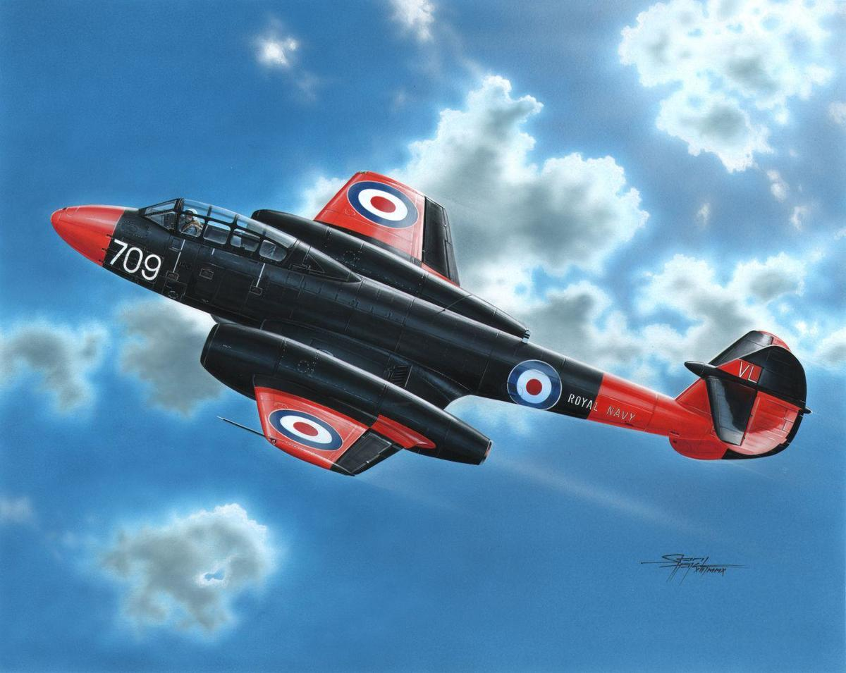 Special Hobby Gloster Meteor T Mk.7 1/72