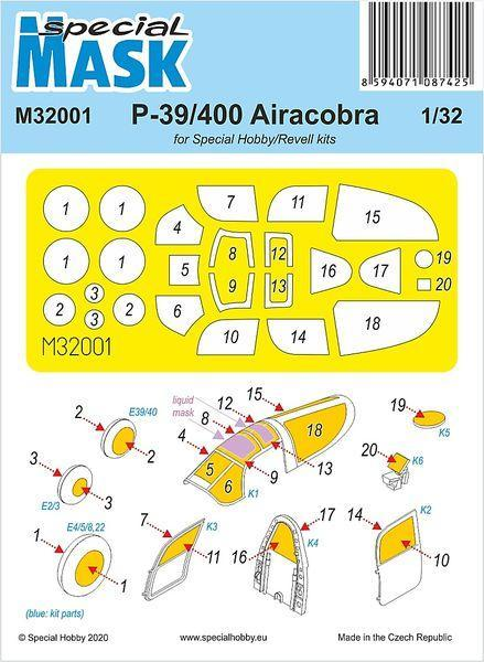 Special Hobby 1/32 P-39 Airacobra Mask