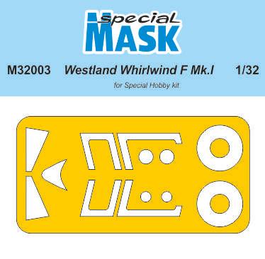 Special Hobby 1/32 Westland Whirlwinf Mk.I Mask