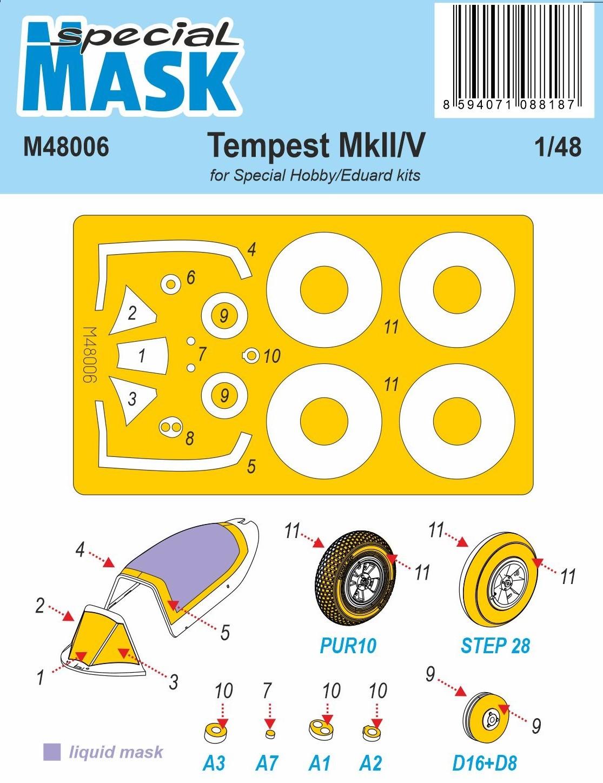 Special Hobby 1/48 Tempest Mk.II/V Mask