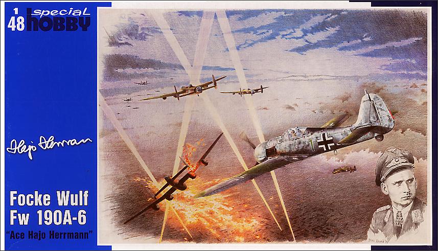 Special Hobby FW 190A-6 ACE Flajo Herrmann 1/48
