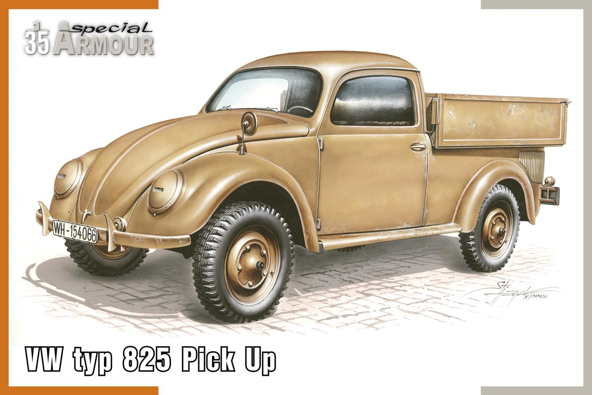 "Special Hobby VW type 825 ""Pick Up"" 1/35"