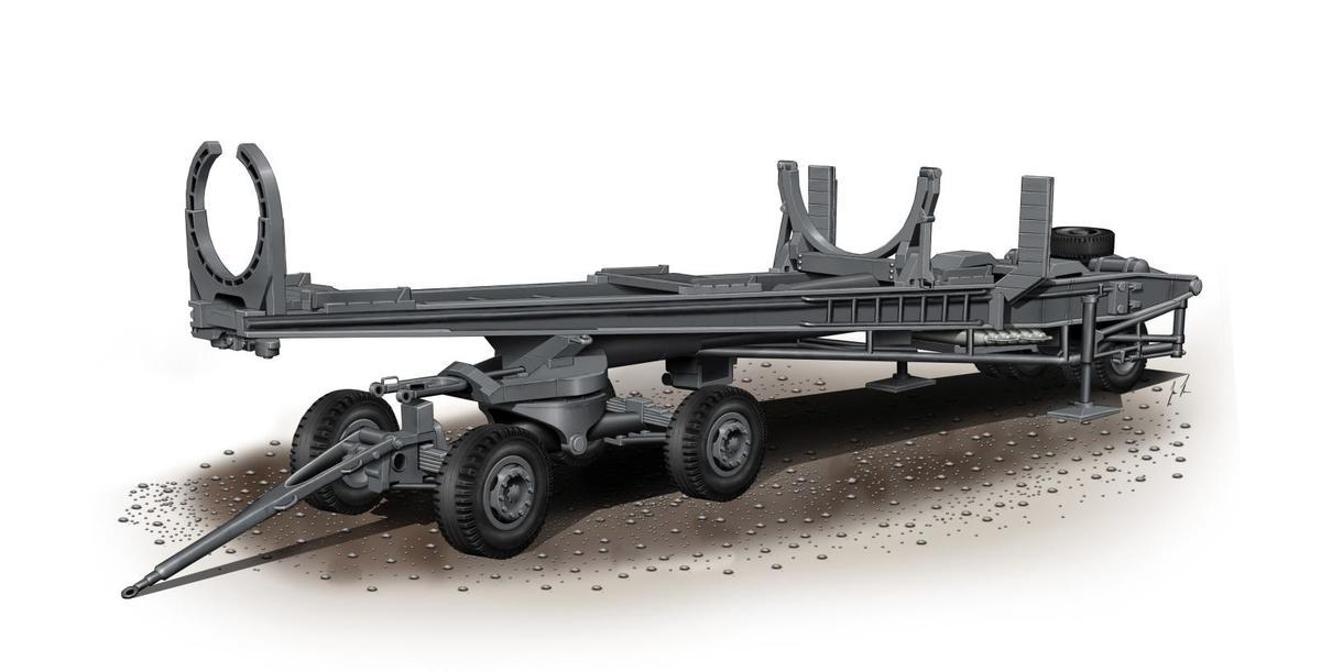 Special Hobby 1/72 Meillerwagen V-2 Transporter
