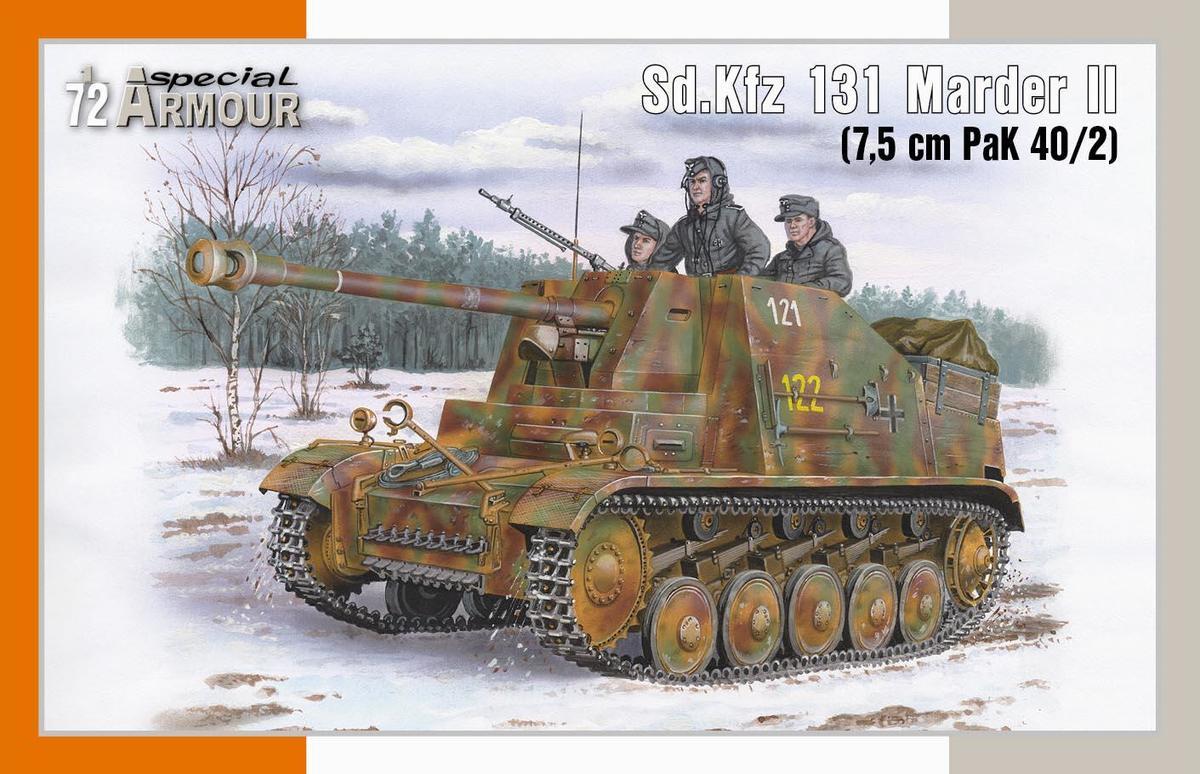 Special Hobby 1/72 Sd.Kfz 131 Marder II (7.5 cm PaK 40/2)