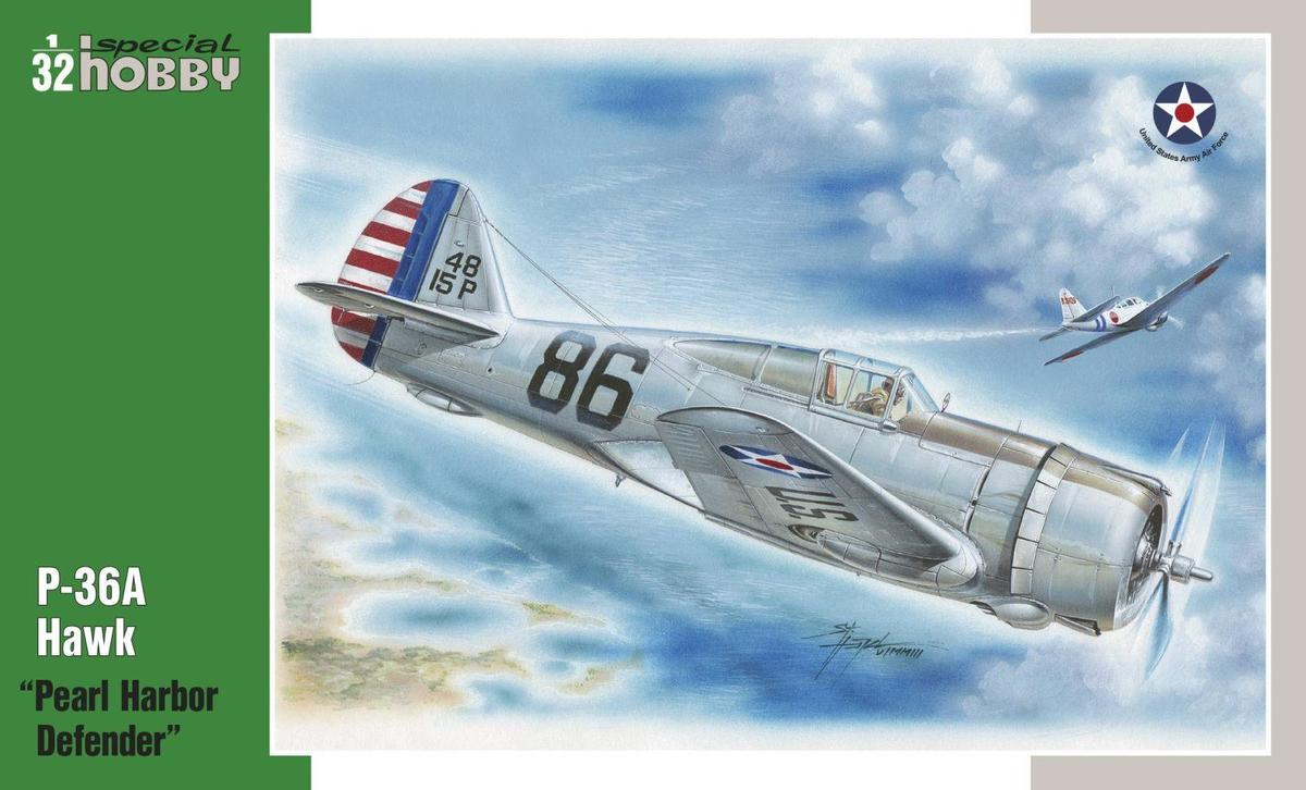 Special Hobby 1/32 P-36 Pearl Harbor Defender