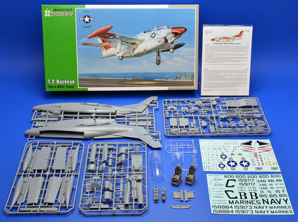 Special Hobby 1/32 T-2 Buckeye Red & White Trainer