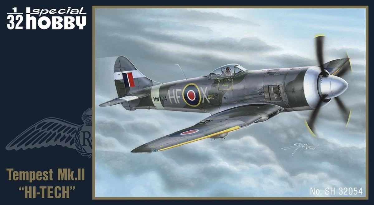 Special Hobby 1/32 Hawker Tempest Mk.II Hi-Tech