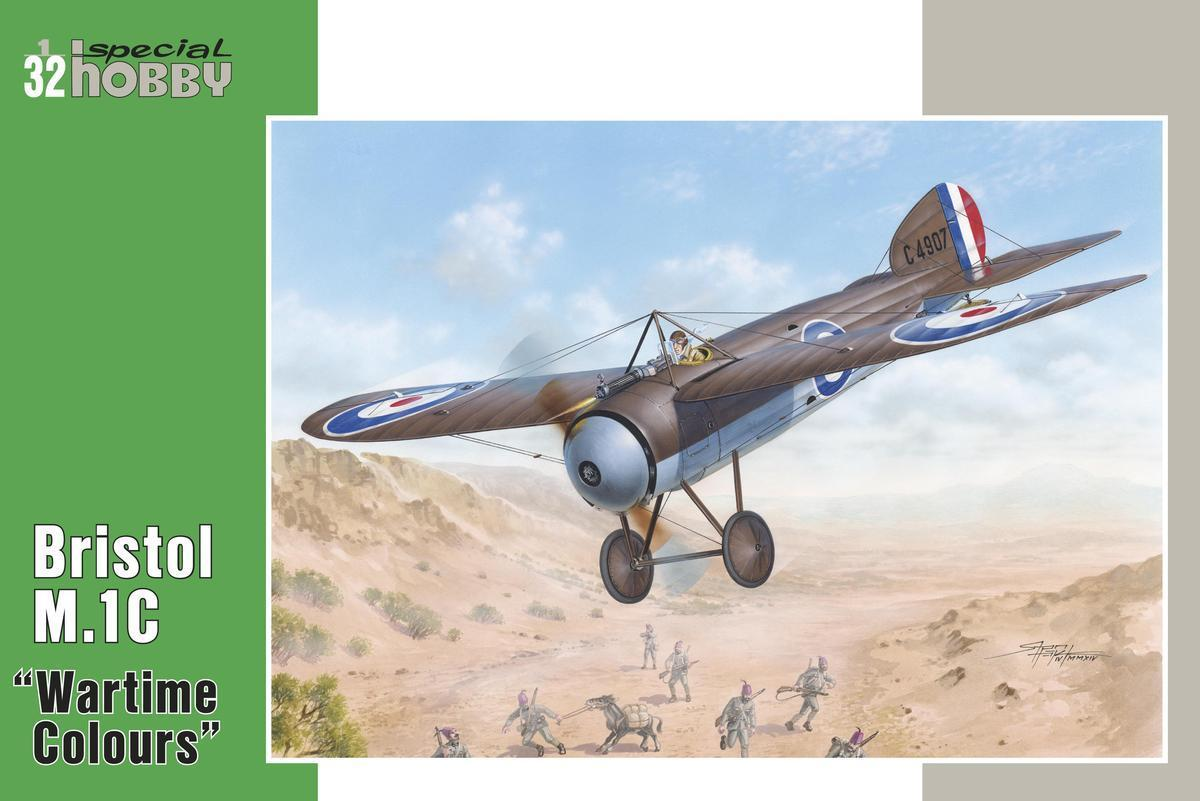 Special Hobby 1/32 Bristol M.1C Wartime Colours