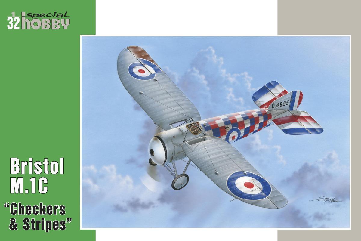 Special Hobby 1/32 Bristol M.1C Checkers & Stripes