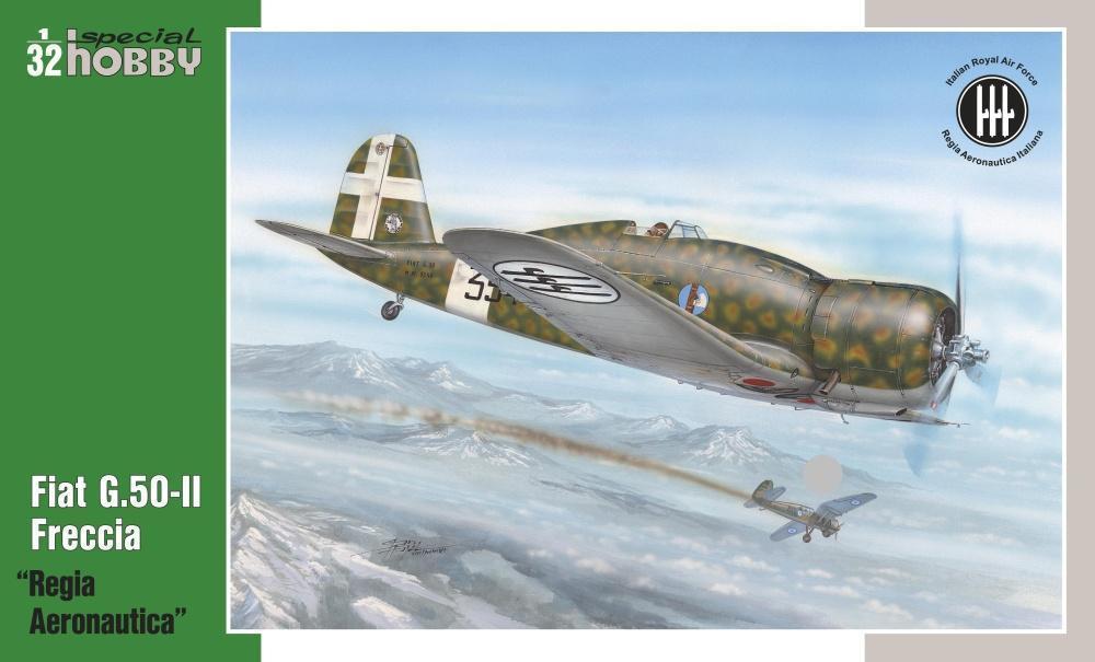 Special Hobby 1/32 Fiat G.50-II Regia Aeronautica