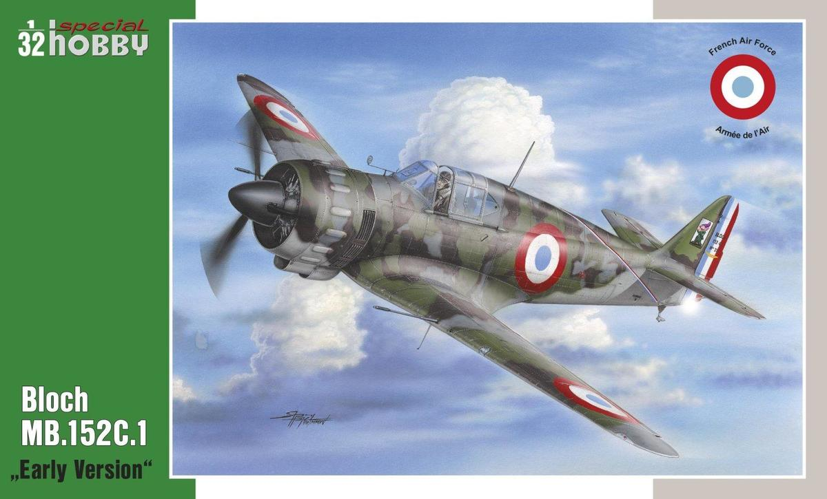 Special Hobby 1/32 Bloch MB.152C1 Early Version