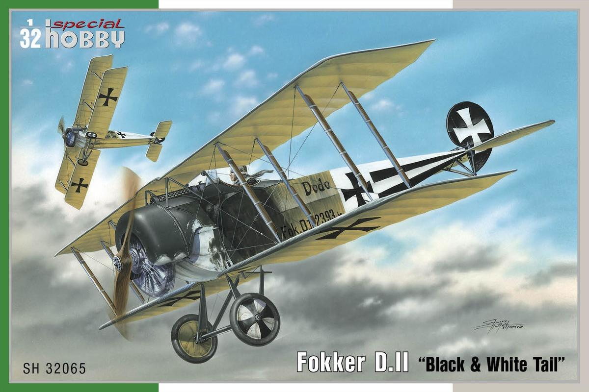 Special Hobby 1/32 Fokker D.II Black & White Tail