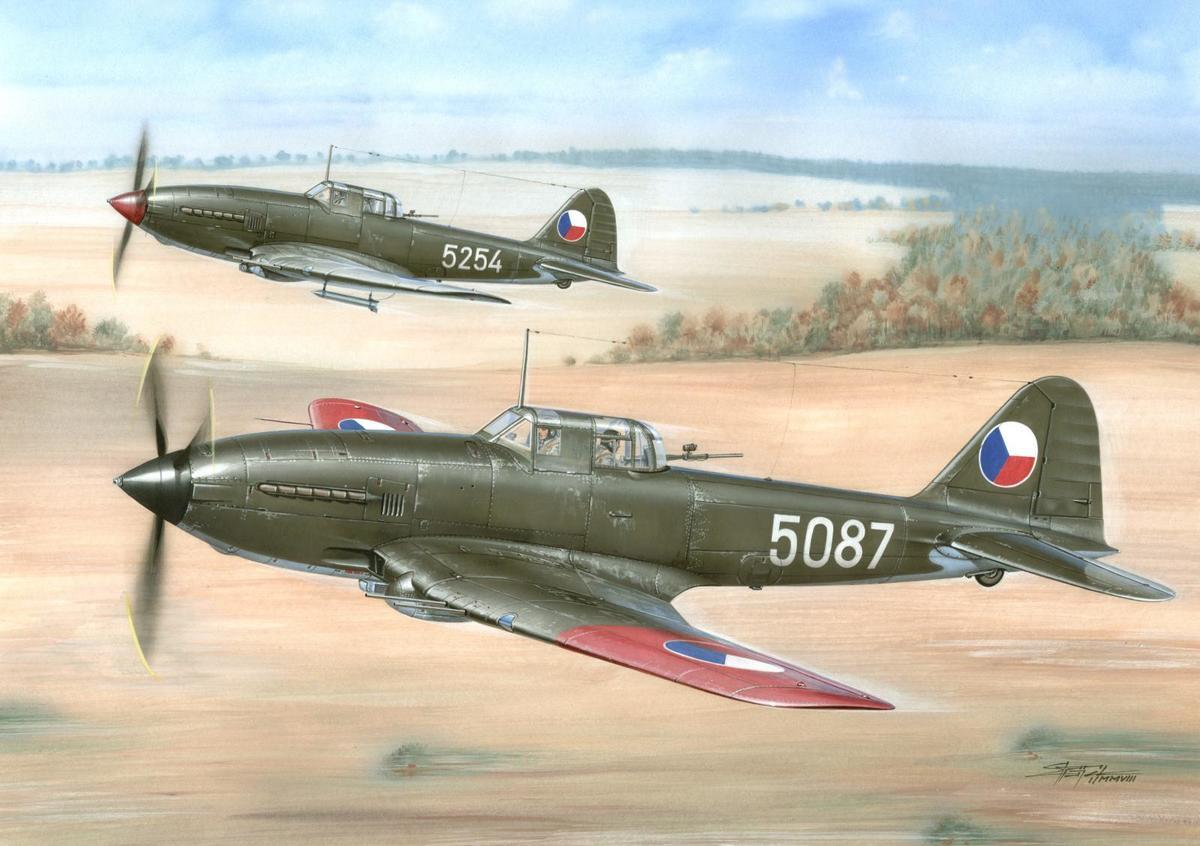 Special Hobby 1/48 Avia B-33 Czechoslovakian Build ll-10 Beast