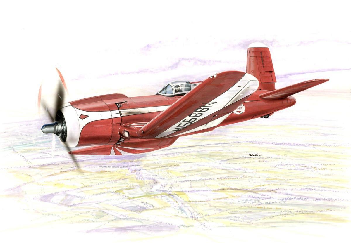Special Hobby 1/48 F2G Super Corsair
