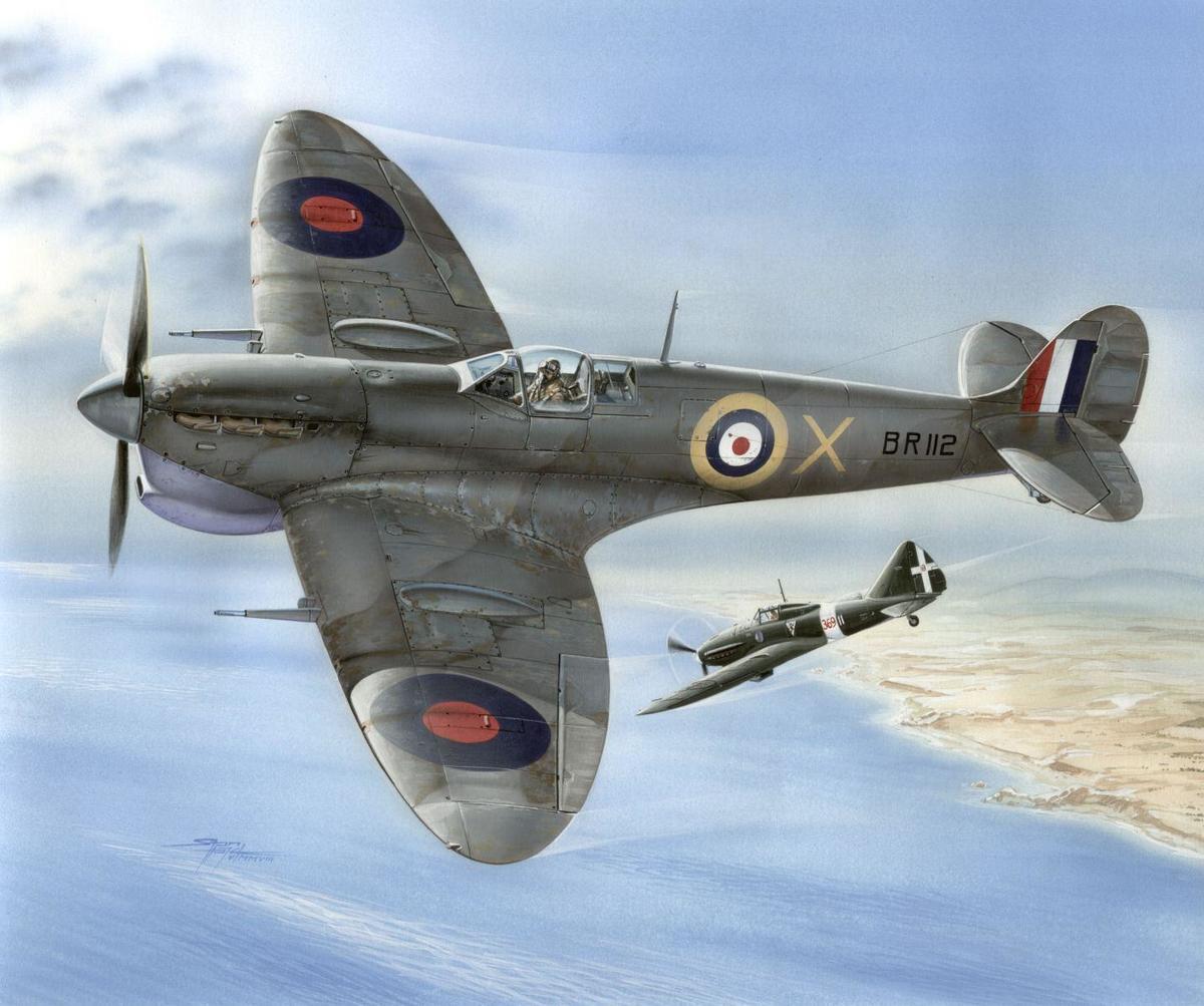 Special Hobby 1/48 Supermarine Spitfire Mk.VC Malta Defender