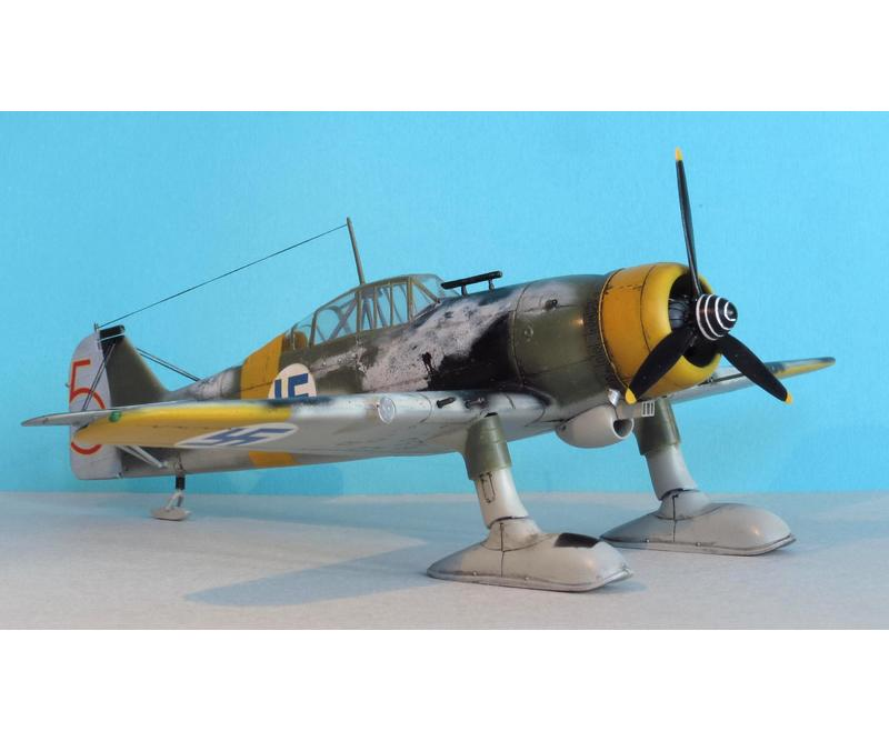 Special Hobby 1/48 Fokker D.XXl 4. Sarja with Wasp Junior Engine