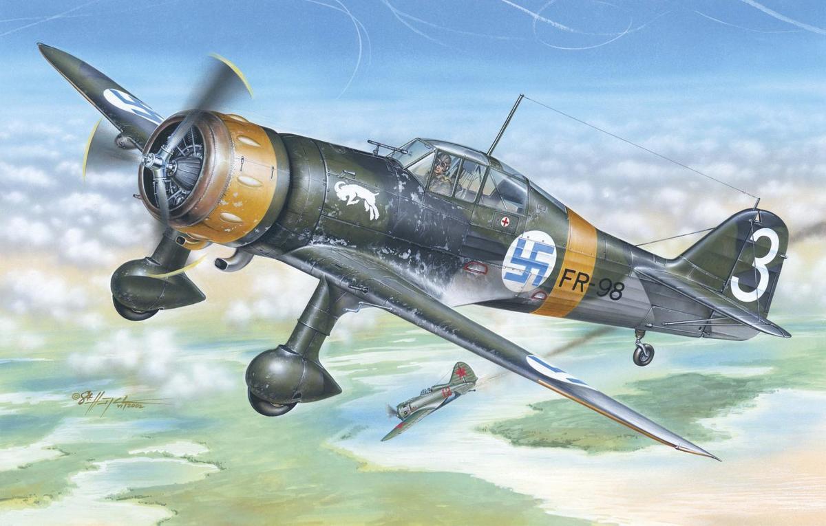 Special Hobby 1/48 Fokker D.XXl 3. Sarja with Mercury engine