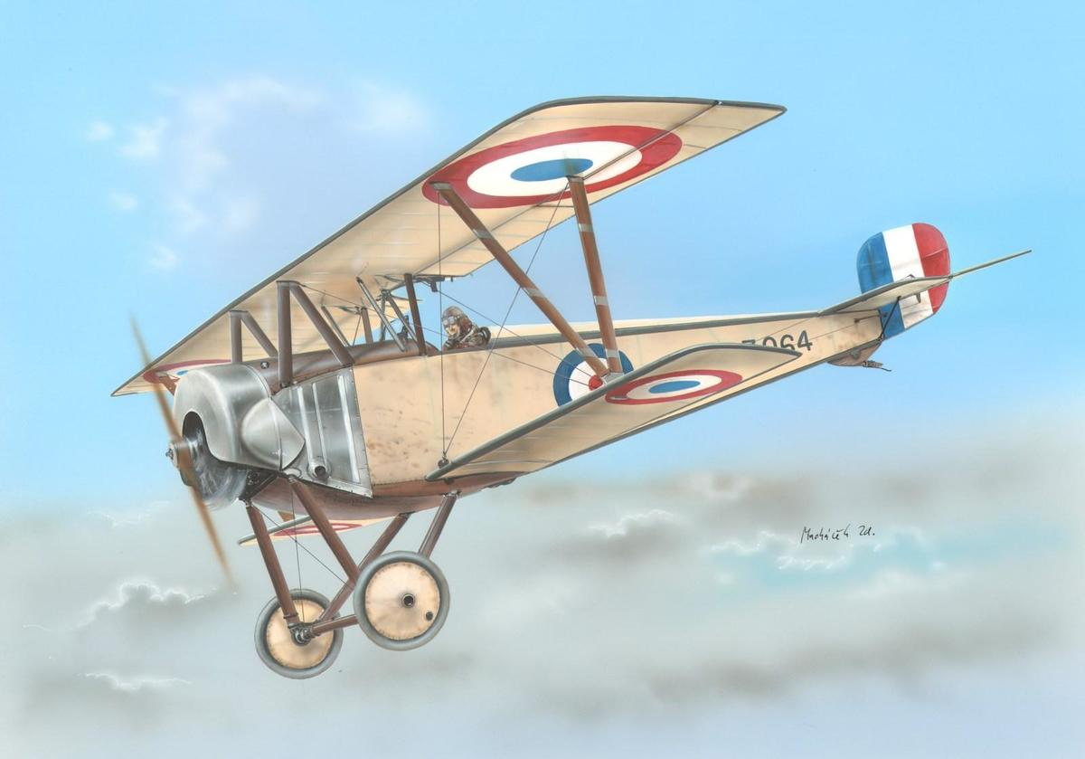 Special Hobby 1/48 Nieuport 10 Single Seater Version