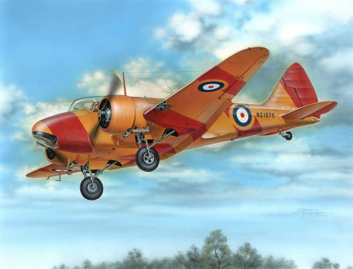 """Special Hobby Airspeed Oxford Mk.I/II """"Commonwealth Service"""" 1/48"""