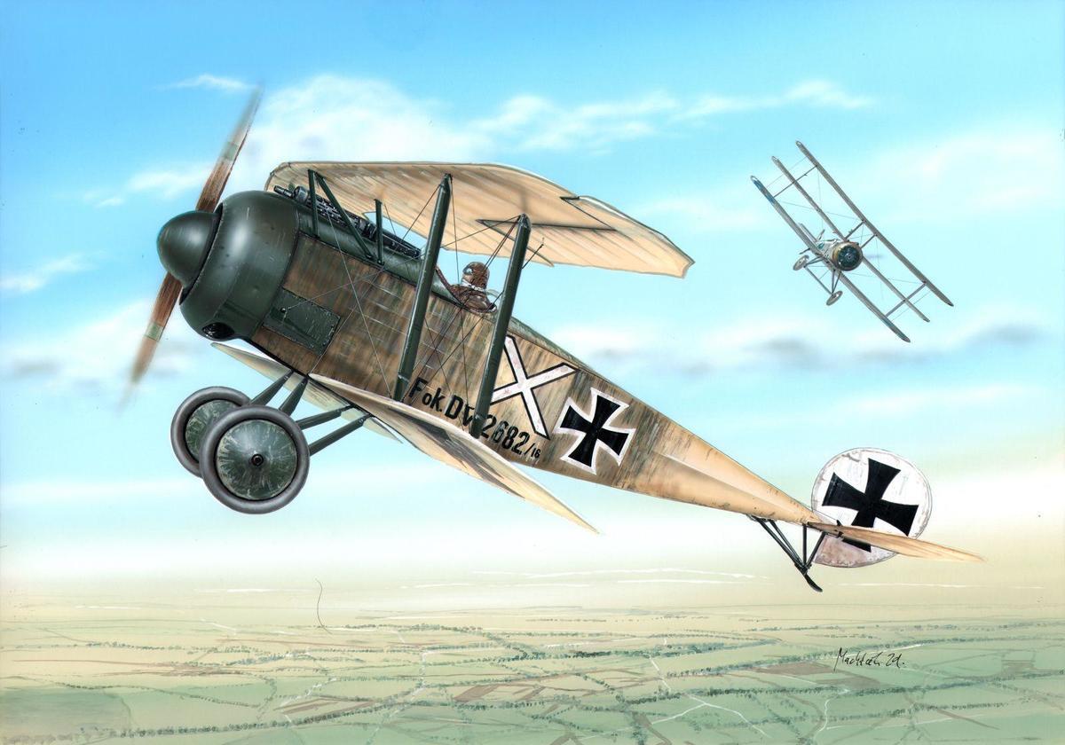 Special Hobby 1/48 Fokker D.V