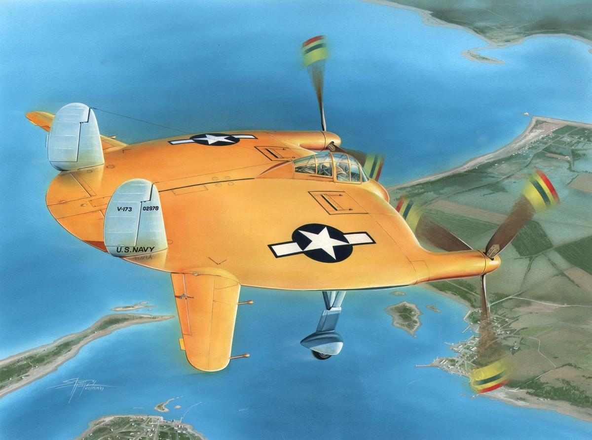 Special Hobby 1/48 V-173 Flying Pancake