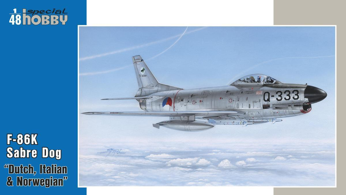 Special Hobby 1/48 F-86K NATO All Weather Fighter